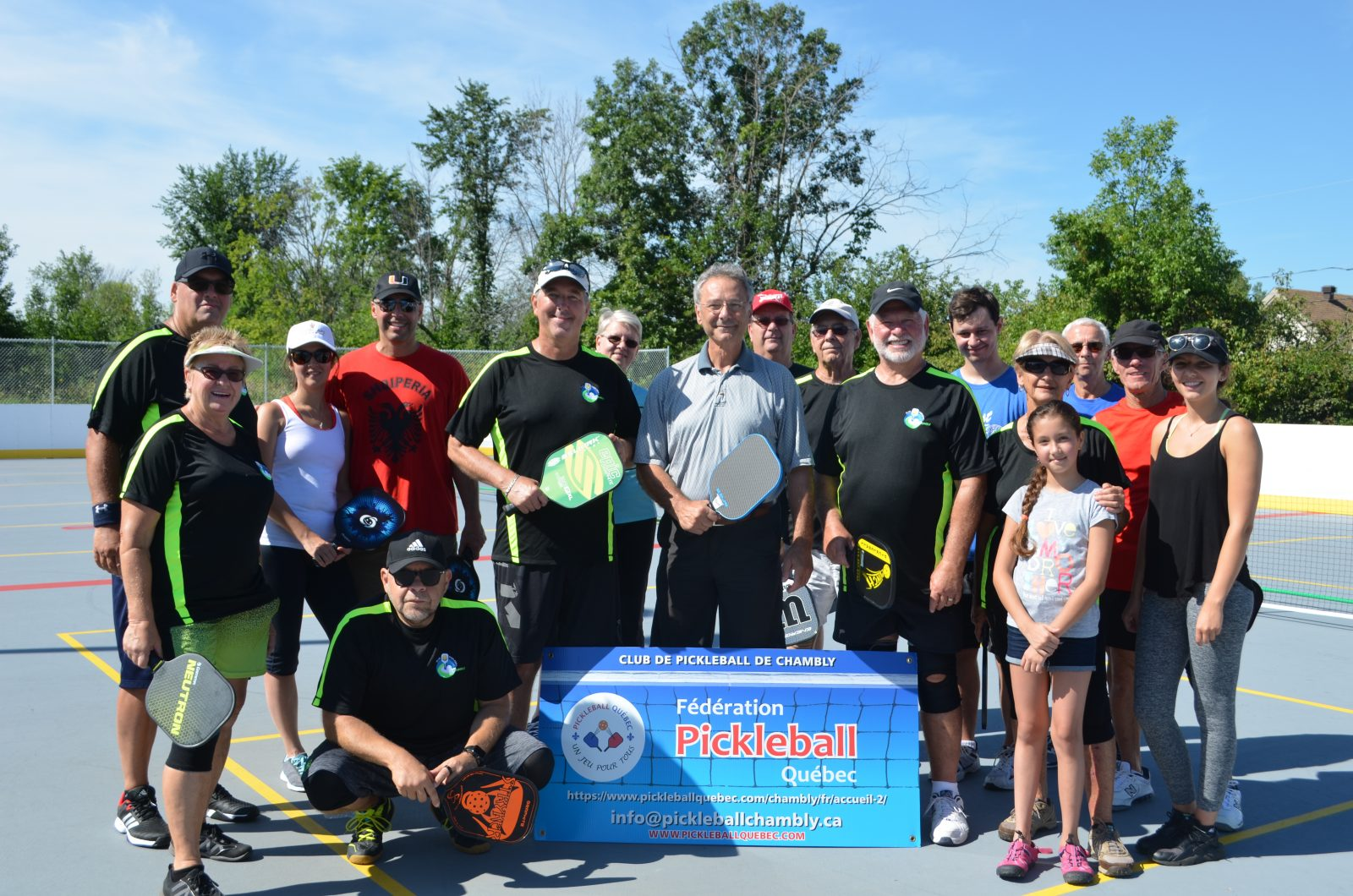 Le pickleball gagne du terrain