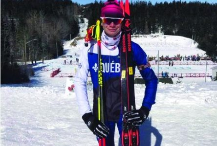 Un cadet de Chambly s'illustre au Championnat national de biathlon