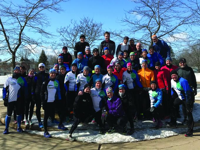 Le club de triathlon Trifort de Chambly honore ses athlètes