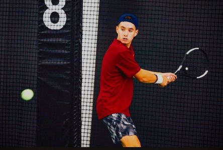 Mathis Tremblay recruté par une université américaine en tennis