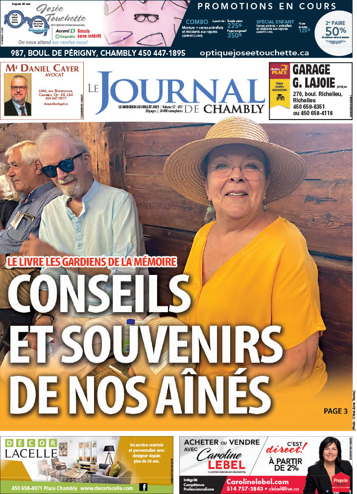 Chambly 28 juillet 2021